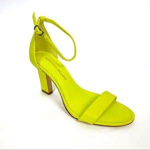 NEW ANTONIO MELANI Stacen Ankle Strap Heel Sandals